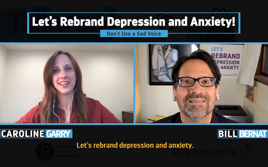 Don't Use a Sad Voice To Talk About Depression
